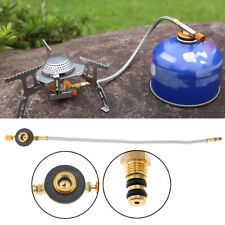 Stove Burner Furnace Connector Gas Tank Adapter Valve for Outdoor Camping Picnic