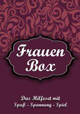 Lustige Geschenkidee für die Frau zum Geburtstag 18, 30, 40, 50, 60, - Frauenbox