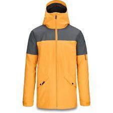 DAKINE Men's DENISON Snow Jacket - GoldenGlow/DarkSlate - Medium - NWT