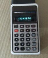 Calculadora de bolsillo, escritorio Casio Memory 8F, calculators  vintage