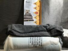 New listing BarkBox Memory Foam Dog Bed Pillow Bed Medium Grey Cover