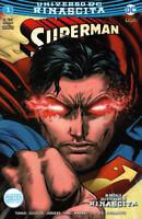 Superman N° 1 (116) - Universo DC Rinascita - RW Lion - ITALIANO NUOVO #NSF3