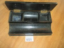 Vintage Desktop Tidy / Pen Rest Box