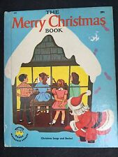 NMC 1953 The Merry Christmas Book Songs And Stories Wonder Books Berg Scholz