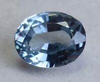 AAA 7.50 Ct Natural Blueish Aquamarine Oval Cut Loose Gemstone GIE Certified