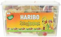 Haribo Tangfastics Sour Drum Tub Party Mix Candy Retro Jelly Sweets Pack 1.75Kg