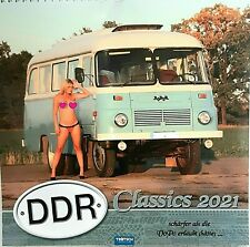 "Erotik DDR Fahrzeug Kalender 2021 ""  DDR Classics "" Erotickalender Girls / Akt"