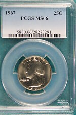 1967 PCGS MS66 Washington Quarter Dollar!! #A1877