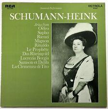 Schumann-Heink (Arias); LP (RCA 1969) Immortal Performances- New/Sealed