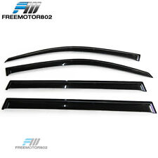 For 2008-2012 Toyota Highlander XU40 Sun Window Visor Rain Guard Deflector 4Pcs