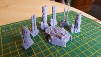 Turret & Weapons 28mm Compatible with LMR Tank