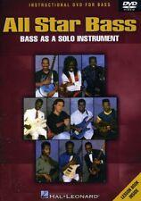 All Star Bass: Bass As a Solo Instrument [New DVD]
