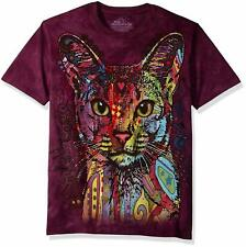 The Mountain Abyssinian Cat Dean Russo Artist T-Shirt Adult Sizes S-3Xl