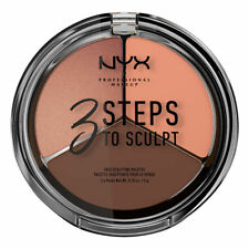 NYX Cosmetics 3 Steps To Sculpt Face Sculpting Palette Deep Brand New