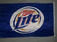 MILLER LITE LIGHT BEER FLAG NEW 3X5ft banner sign better quality usa seller