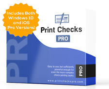Print Checks Pro + Mobile - Complete Kit - Includes Windows 10 and iOS Versions