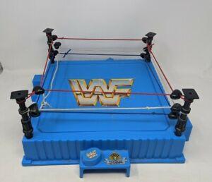 VINTAGE WWF WORLD WRESTLING FEDERATION RING PLAYSET TOY HASBRO 1990s