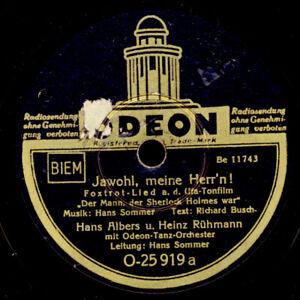 "HANS ALBERS & HEINZ RÜHMANN ""Badewannen-Duett"" Jawohl, meine Herr'n KULT! S4333"