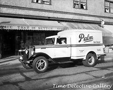 A Vintage Palm Ice Cream Truck (2) Vancouver, BC - 1935 - Historic Photo Print