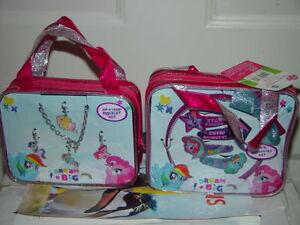 My Little Pony Hair Accessory Headband & 4 Snap Clips & Add A Charm Bracelet Set