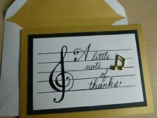-Papyrus Music Thank you Card - Greeting - super nice