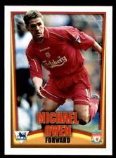 Topps/Nestle Premier League Mini Cards (2001-02) Michael Owen (Liverpool) No. 12