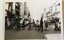 NYC New York City Photo Time Square XXX Theaters Field Trip Children 1975 VTG
