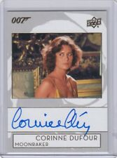 007 JAMES BOND COLLECTION (2019) - CORINNE CLERY (CORINNE DUFOUR) AUTOGRAPH A-CC