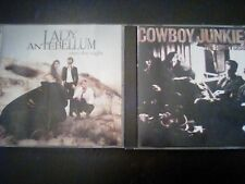 The Trinity Session by Cowboy Junkies and Lady Antebellum Own the night lot CDs