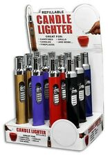 CANDLE CAMPFIRE LIGHTER - ONE LIGHTER WITH COLOR AND DESIGN MAYBE VARY