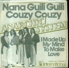 """7"""" Anarchic System/Nana Guili Guili Couzy Couzy (D)"""