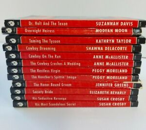 Silhouette Desire Sexy & Seductive Series ,Romance Novels, Bulk Lot of 12 book