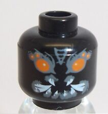 Lego Alien Craniac Head x 1 Black for Minifigure