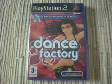 DANCE FACTORY PLAYSTATION 2 PS 2 NUEVO Y PRECINTADO