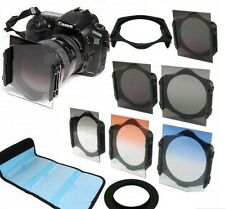 ND2/ND4/ND​8 + 67mm Ring Adapter + Graduated Orange/Blue Filter f Cokin p series