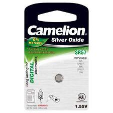 Camelion Pila de Botón de Óxido de Plata SR57 / R57W / G7 / LR927 / 395 / SR92