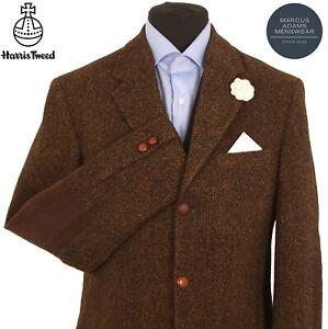 Harris Tweed Jacket Blazer Size 38L Country Weave Hacking Sports BARUTTI EDITION
