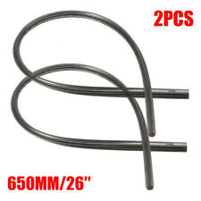 2PCS 26'' 6mm Universal Car Bus Silicone Frameless Windshield Wiper Blade Refill
