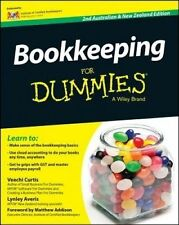 BOOKKEEPING FOR DUMMIES 2ND Edition by Curtis, Averis BRAND NEW on hand IN AUS!