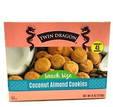 Twin Dragon Coconut Almond Cookies 6 oz