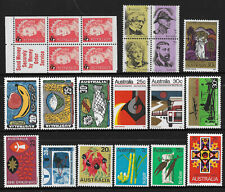 AUSTRALIA 22 Different DECIMAL COLLECTION better vals Face $3.55 MINT LH
