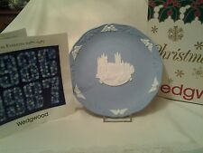 Wedgwood Christmas plate year 1986 with the original box