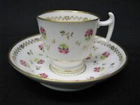 Early 19th Century London Shape Batwing Teacup & Saucer John & William Ridgway