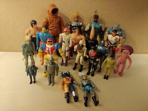 Vintage Mixed Action Figure Lot LJN Coleco Kenner Hasbro and More!