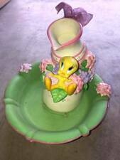 Tweety's Beautiful Garden water fountain - Warner Bros. Studio Store 2000