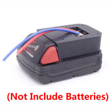 Milwaukee M18 Li-ion Batteries Convert to DIY Connection Line Output Adapter
