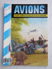 AVIONS N° 1 /Dewoitine 520/ CAPRONI/CEP / Henschel Hs 129/Morane-Bolgarski KB-11