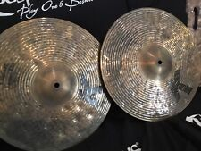 "More details for new 14"" zildjian k custom special dry hi hats"