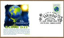 2020 EARTH DAY - PANDA CACHET ~ FIRST DAY OF ISSUE ~ PICTORIAL CANCEL