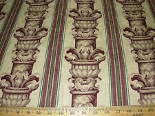 """~7 7/8 YDS~FABRICUT~""""NEOCLASSICAL COLUMNS""""~COTTON UPHOLSTERY FABRIC FOR LESS~"""